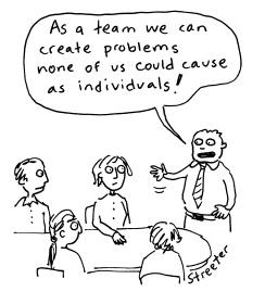 Teamwork-cartoon